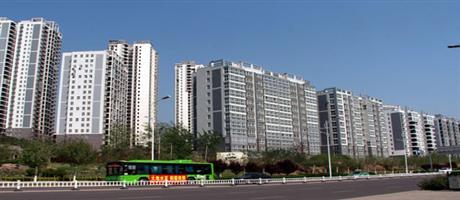 平顶山新城区高层建筑